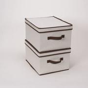 Household Essentials Canvas Large Storage Box