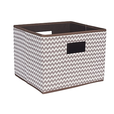 Household Essentials Open Storage Bin w/ Cutout Handle