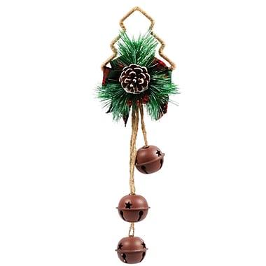 Jeco Inc. Pine Tree Door Hanger Jingle Bell