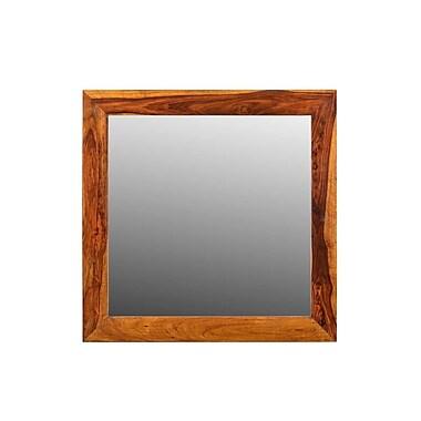 Timbergirl Agra Solid Sheesham Wood Mirror