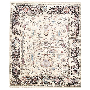 Pasargad NY Sultanabad Hand-Knotted Beige Area Rug