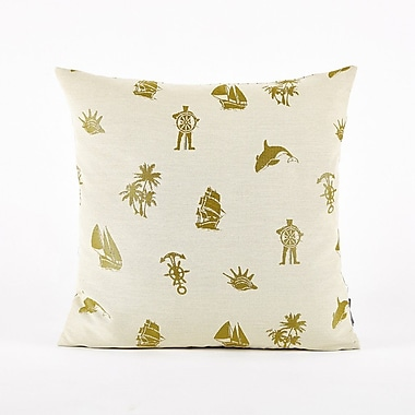 Puredown Throw Pillow Cover; Green