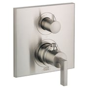Axor Axor Citterio Trim Lever Thermostatic w/ Volume Control; Brushed Nickel