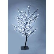 Hi-Line Gift Floral Lights, Outdoor Cherry Tree, 208 LED Lights Including 12 Glimmering Lights