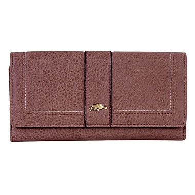 Roots – Pochette portefeuille Slim, brun sable, RT24371-24