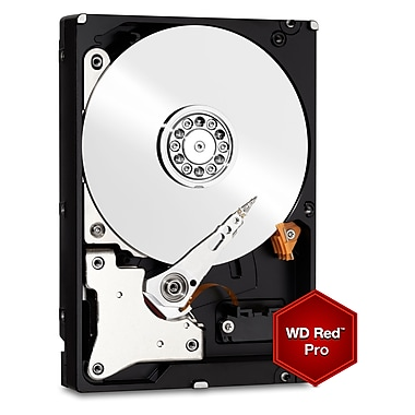 WD Red Pro 6 TB NAS Internal Hard Drive, SATA, 6 GB/s, 3.5