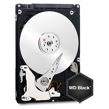 WD – Disque dur interne WD Black Performance Mobile, 250 Go, SATA, 6 Gbit/s, 2,5 po (WD2500LPLX)