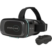 ReTrak Utopia 360-degree Virtual Reality 3D Headset with Bluetooth Controller (EUVRC)