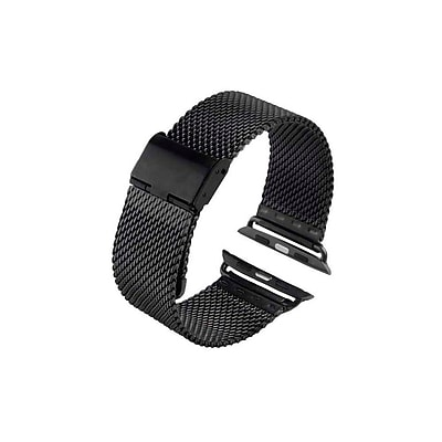 iPM Luxury Stainless Steel Tight Mesh Strap for Apple Watch AWMS001-38-Black (AWMS00138BK)