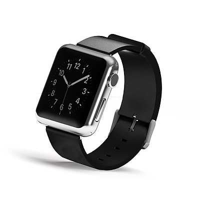 iPM Genuine Leather Replacement Band For Apple Watch-42mm-Black (GLAPLW42BK)