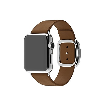 iPM Smooth Granada Leather Replacement Band with Modern Buckle-42mm-Brown (ICEWA2542BN)