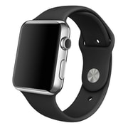 iPM Soft Silicone Replacement Sports Band For Apple Watch-42mm-Black (SPRTSW42BK)