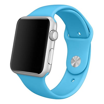 iPM Soft Silicone Replacement Sports Band For Apple Watch-42mm-Blue (SPRTSW42BL)