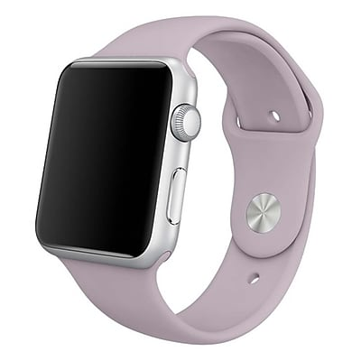 iPM Soft Silicone Replacement Sports Band For Apple Watch-38mm-Lavender (SPRTSW38LAV)