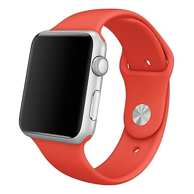 iPM Soft Silicone Replacement Sports Band For Apple Watch-42mm-Orange (SPRTSW42O)