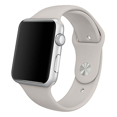 iPM Soft Silicone Replacement Sports Band For Apple Watch-42mm-Stone (SPRTSW42ST)