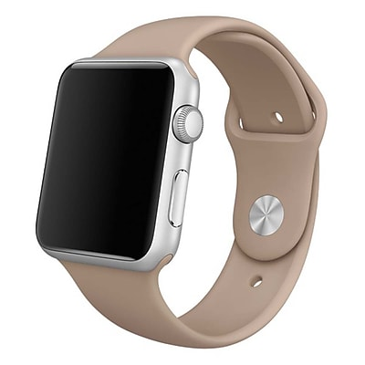 iPM Soft Silicone Replacement Sports Band For Apple Watch-42mm-Walnut (SPRTSW42WAL)