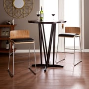 SEI Corbin Stools - Natural Birch/Black (BC7264)