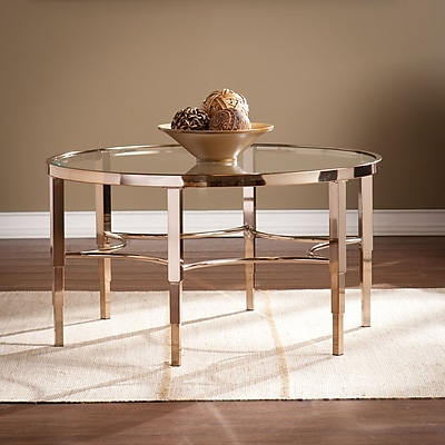 SEI Thessaly Cocktail Table - Metallic Gold (CK3910)