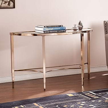 SEI Thessaly Console Table - Metallic Gold (CK3913)