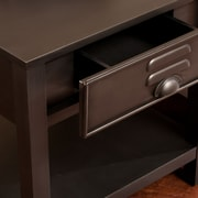 SEI Radcliff Metal End Table - Gray (CK9552)