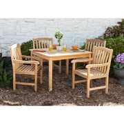 SEI Summersby Teak Outdoor Dining Set - 5 Piece (CR7995)