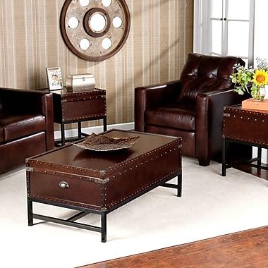 SEI Voyager Trunk Table Collection - Espresso (GP0021)