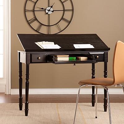 SEI Rivendell Lift-Top Desk - Ebony (HO9675)