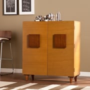 SEI Boyle Bar/Anywhere Cabinet - Honey Oak (HZ1037)