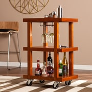 SEI Covina Chic Bar Cart - Mahogony (HZ1045)