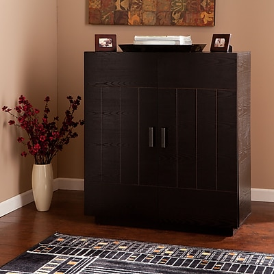 SEI Marc Bar Cabinet - Ebony (HZ1047)