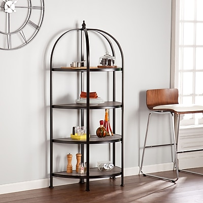 SEI Vernon 4-Tier Rotunda Shelf (HZ3574)