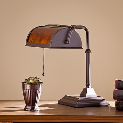 SEI Anson Desk Lamp - Chocolate (LT2003)