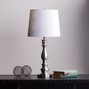 SEI Chayton Table Lamp -  Satin Steel (LT3221)