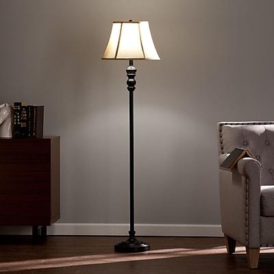 SEI Dennison Floor Lamp - Black (LT3272)