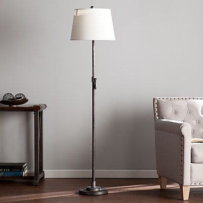 SEI Tanner Floor Lamp - Brushed Gunmetal (LT3302)