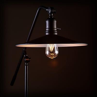 SEI Victor Floor Lamp - Matte Black (LT5192)