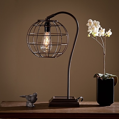 SEI Zaine Table Lamp - Chocolate (LT5221)