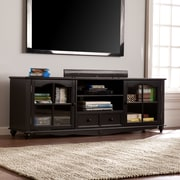 "SEI Coventry 69"" TV Console - Antique Black (MS0714)"