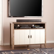 SEI Heyburn Glam Industrial TV/Media Stand (MS6632)