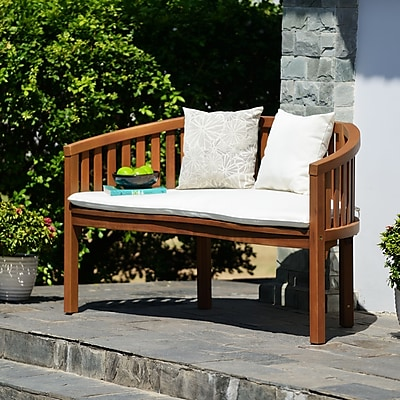 SEI Korba Outdoor Bench - Natural (OD1234)