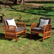 SEI Catania Outdoor Armchairs Set- 2 Piece - Natural (OD6622)
