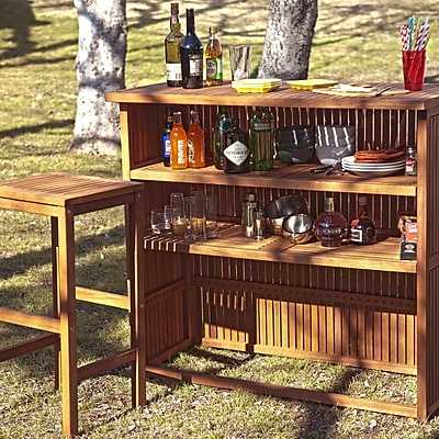 SEI Trinidad Outdoor Bar - Natural (OD6965)