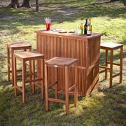 SEI Trinidad Outdoor Bar Set - 3pc - Natural (OD6966)