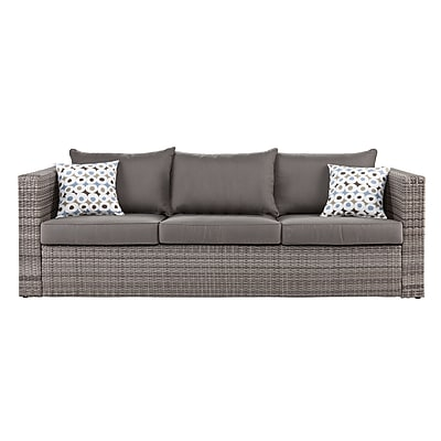 SEI Bristow Outdoor Deep Seating Sofa - Gray (OD7741)