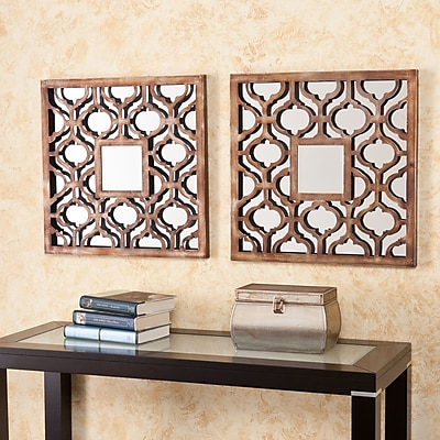 SEI Otto Decorative Mirror Set - Bronze (WS9914)