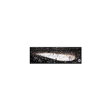 Artissimo Designs – Toile galerie encadrée d'une panoramique des Jets, 18,25 x 50,25 po (30595KI170)