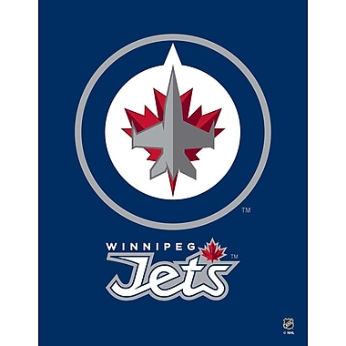 Artissimo Designs Jets Logo Gallery-Wrapped Canvas, 35
