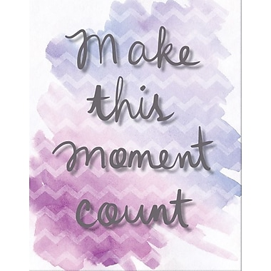 Artissimo Designs Make This Moment Count Foil Embellished Gallery-Wrapped Canvas, 19