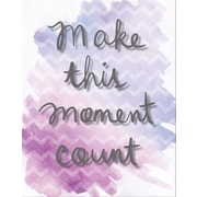 "Artissimo Designs Make This Moment Count Foil Embellished Gallery-Wrapped Canvas, 19"" x 15"" (68366CPCD1)"